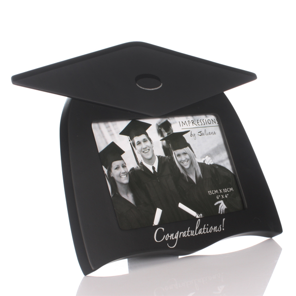 Graduation Mortar Board Shape Photo Frame - Graduation Gifts