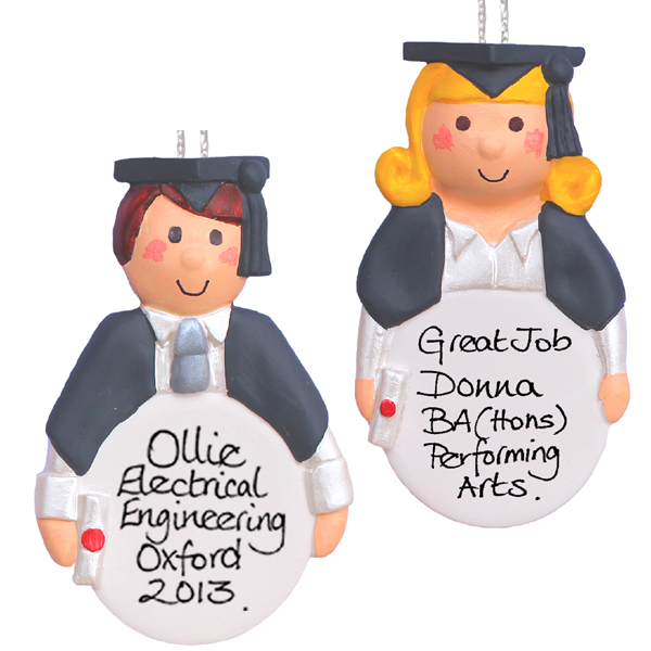 Personalised Graduation Hanging Ornament - Graduation Gifts
