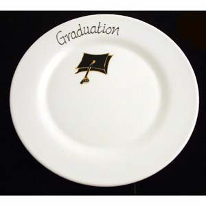 Graduation Signature Plate