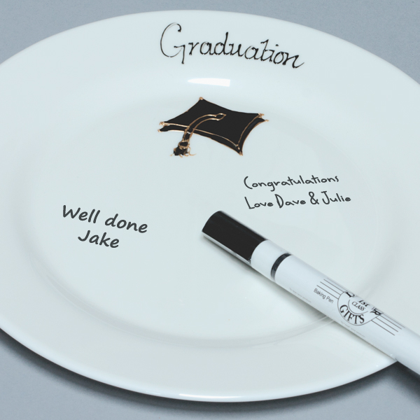Occasional Gifts Graduation Signature Plate