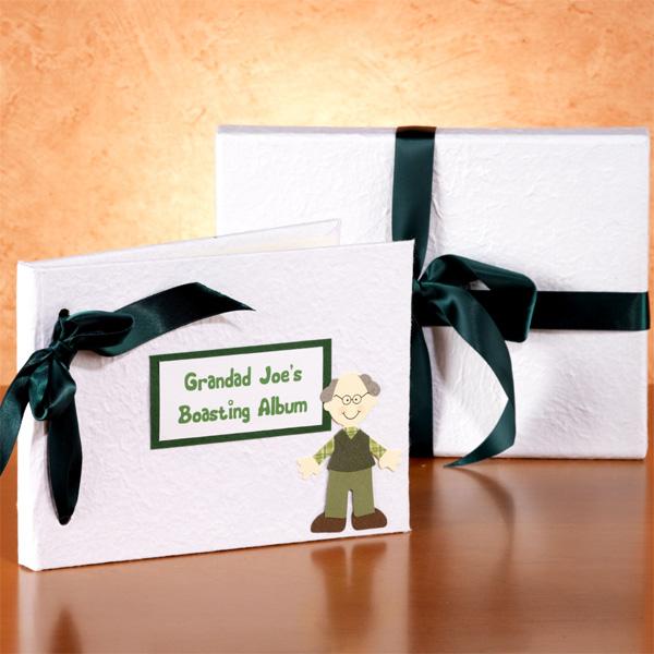 Personalised Grandad Boasting Album - Grandad Gifts