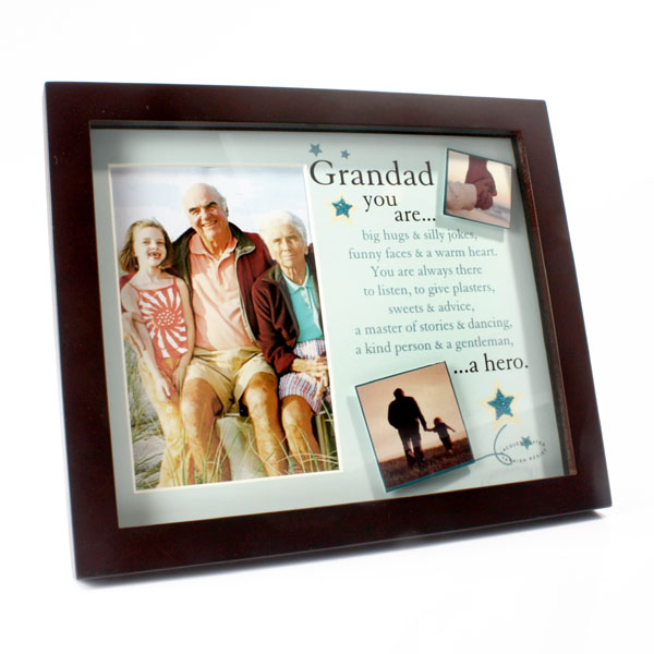 Grandad Photo and Verse Frame - Grandad Gifts
