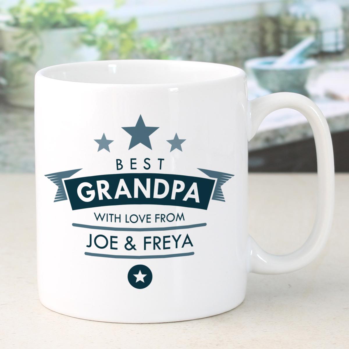 Button Corner Grandad Mug - Grandad Gifts