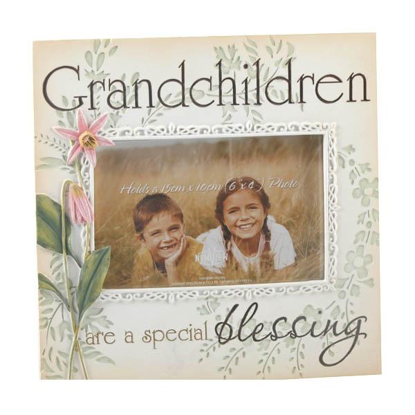 Grandchildren are a Special Blessing Photo Frame - Grandchildren Gifts