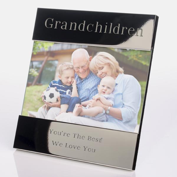 Engraved Grandchildren Photo Frame - Grandchildren Gifts