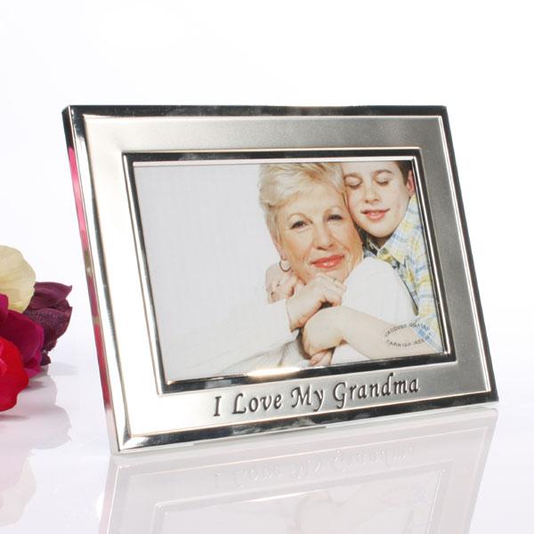 I Love My Grandma Photo Frame - Grandma Gifts
