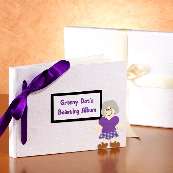 Grannys Personalised Boasting Photo Album - Photo Album Gifts