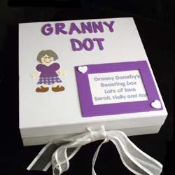 Grannys Personalised Boasting Memory Box