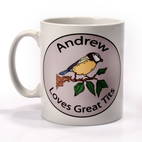 Personalised Birdwatcher Mug