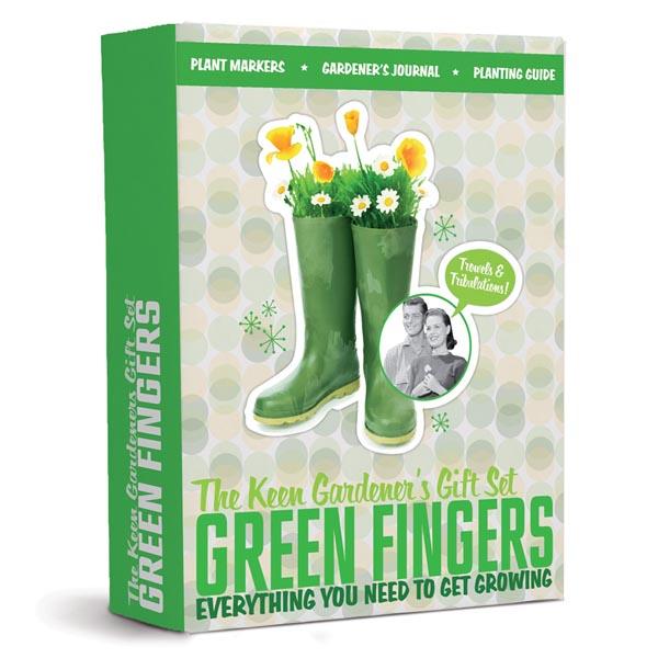 Green Fingers - Keen Gardener Gift Set - Gardening Gifts
