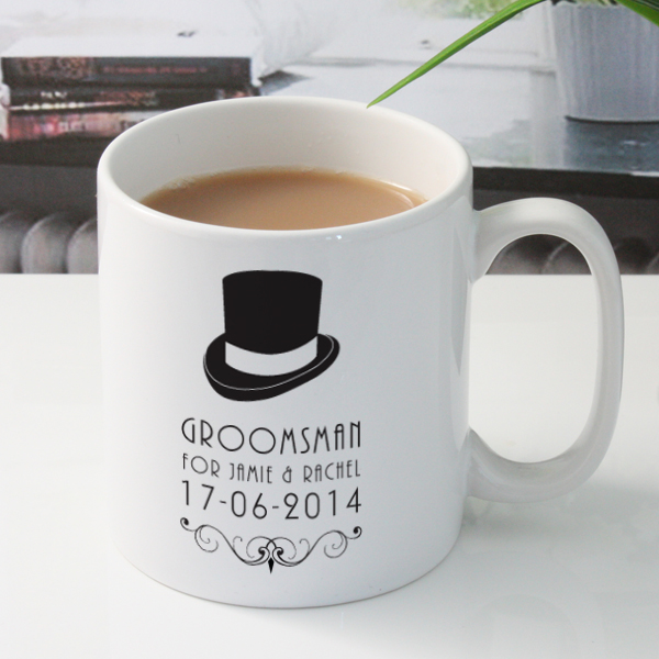Personalised Groomsman Mug