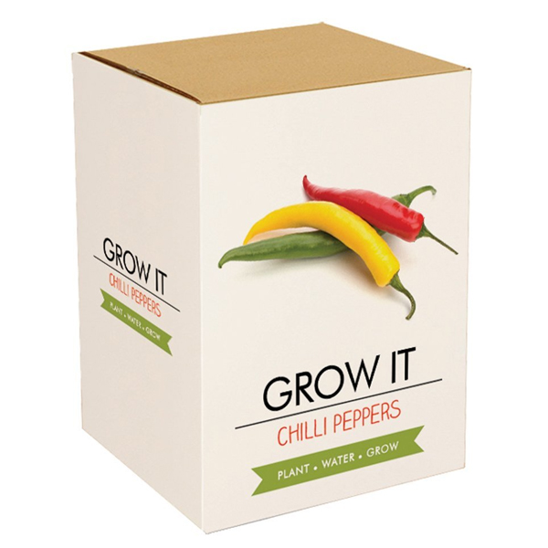 Grow Your Own Chilli Plant - Grow Your Own Gifts