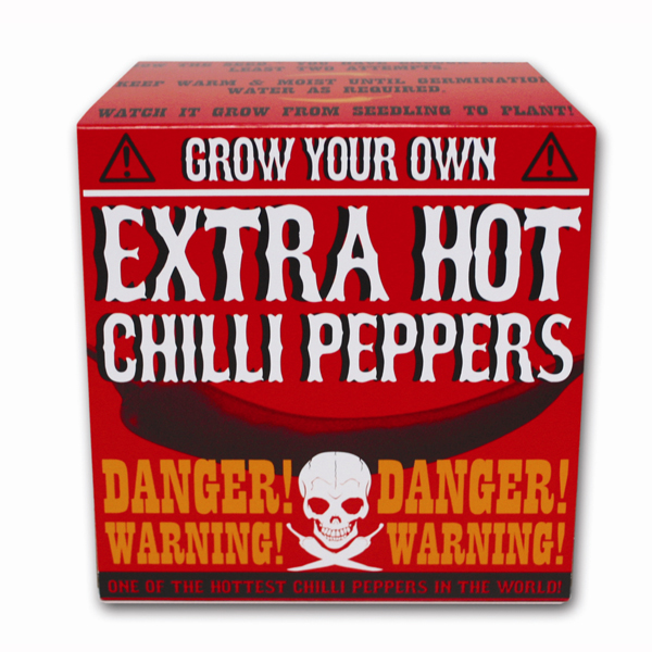 Grow Your Own Extra Hot Chilli - Grow Your Own Gifts