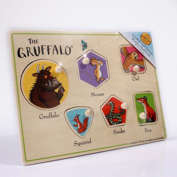 The Gruffalo Peg Puzzle - The Gruffalo Gifts