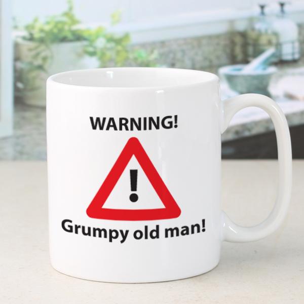 Personalised Grumpy Old Man Mug - Grumpy Gifts