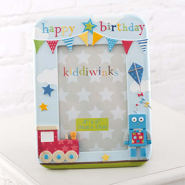 Happy Birthday Blue Kiddiwinks Photo Frame