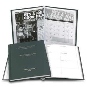 Personalised Football Diary - Reading - Reading Gifts