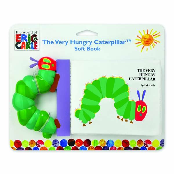 The Very Hungry Caterpillar Soft Book - The Very Hungry Caterpillar Gifts