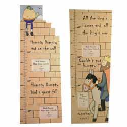 Humpty Dumpty Height Chart