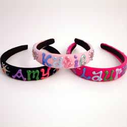 Personalised Childrens Headband