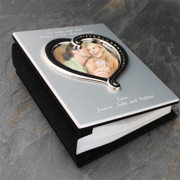 Personalised Heart Photo Album - Photo Album Gifts