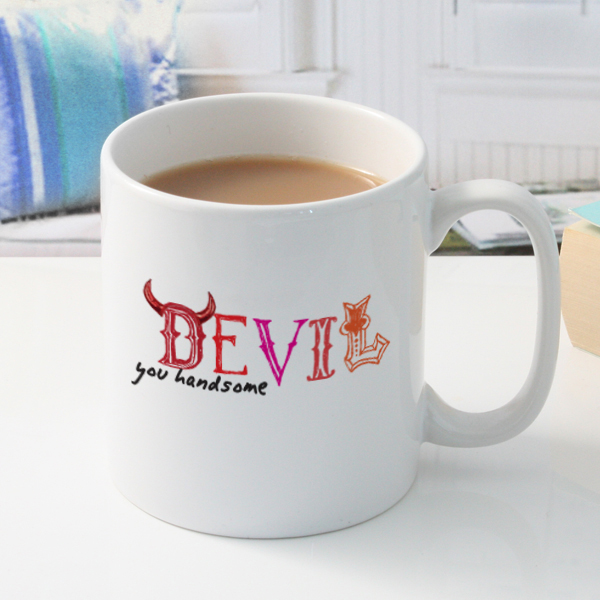 Handsome Devil Personalised Mug