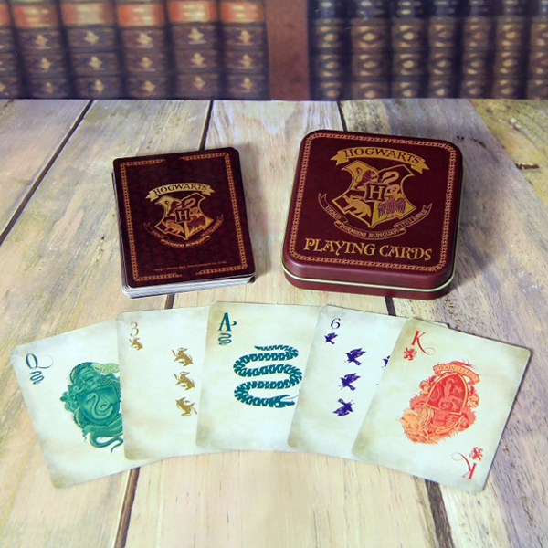 Harry Potter Hogwarts Playing Cards - Harry Potter Gifts