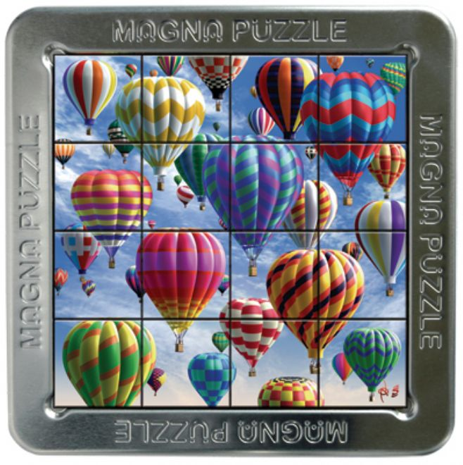 3D Magna Puzzle - Hot Air Balloon - Hot Air Balloon Gifts
