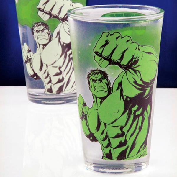 Hulk Colour Change Glass - Hulk Gifts