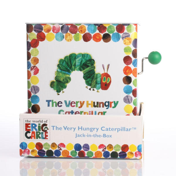 The Very Hungry Caterpillar Jack In The Box - Baby Gifts