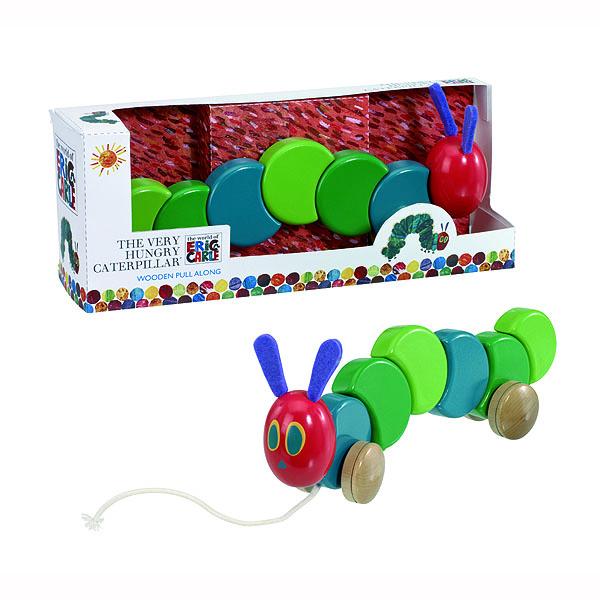 Pull Along Hungry Caterpillar - Caterpillar Gifts