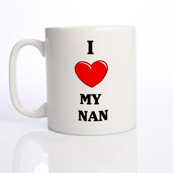 I Heart My Nan Mug - Nan Gifts