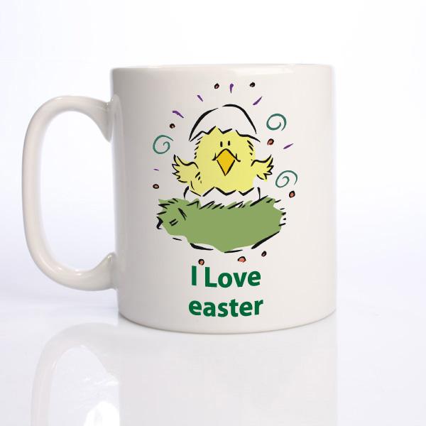 I Love Easter Personalised Mug