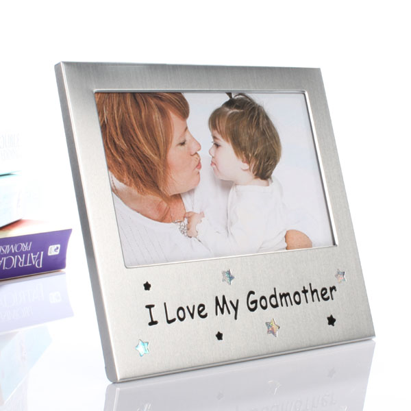 I Love My Godmother - Baby  Birthday Your Baby Gifts - Girls Christening