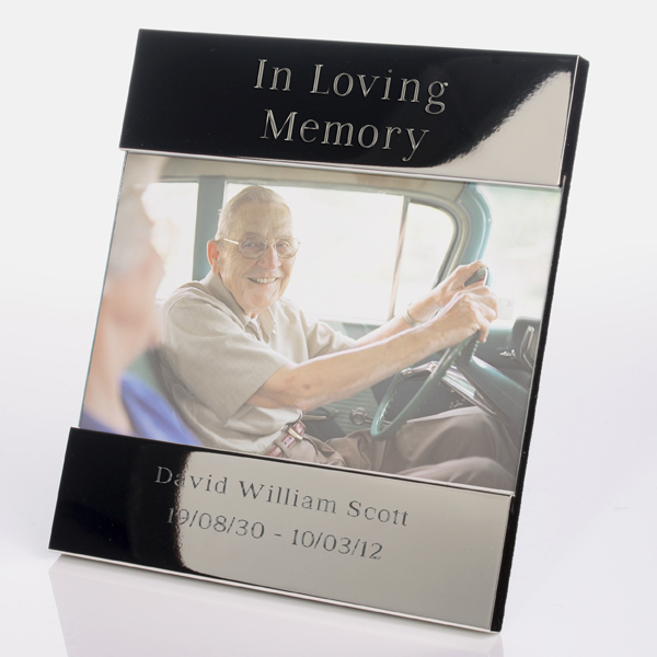 In Loving Memory Engraved Photo Frame | The Gift Experience