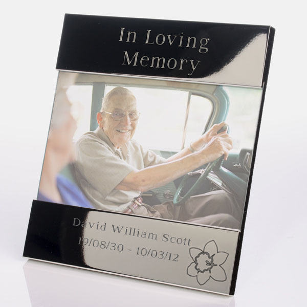 In Loving Memory Personalised Photo Frame - Photo Frame Gifts