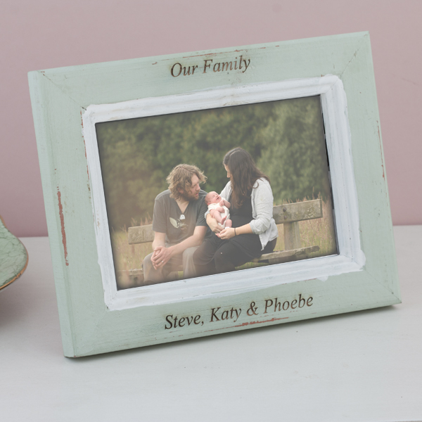 Personalised India Wooden Photo Frame - India Gifts