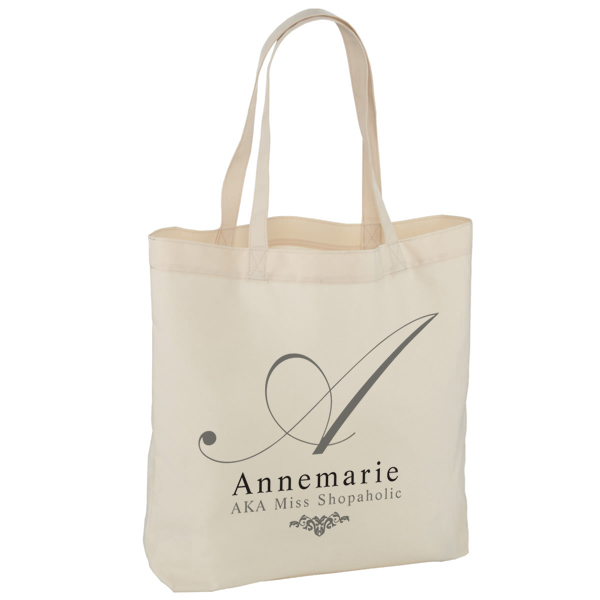 Personalised Initial Shoulder Tote Bag