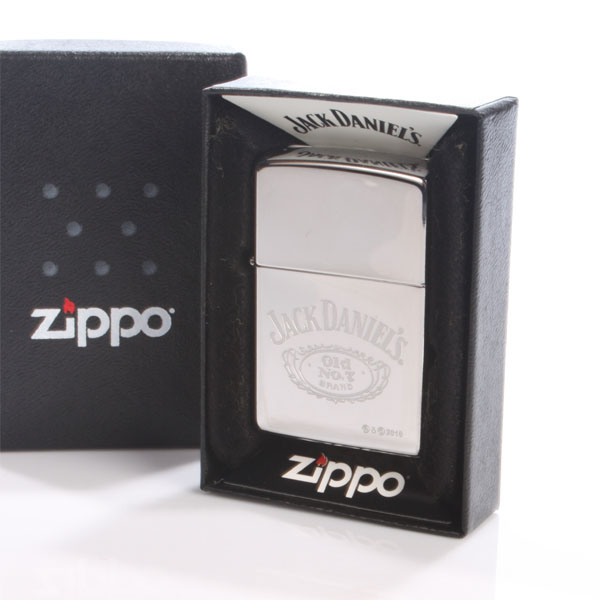 Jack Daniels Engraved Zippo Lighter - Jack Daniels Gifts