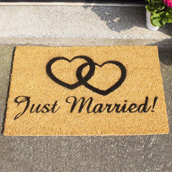 Image of Just Married Doormat