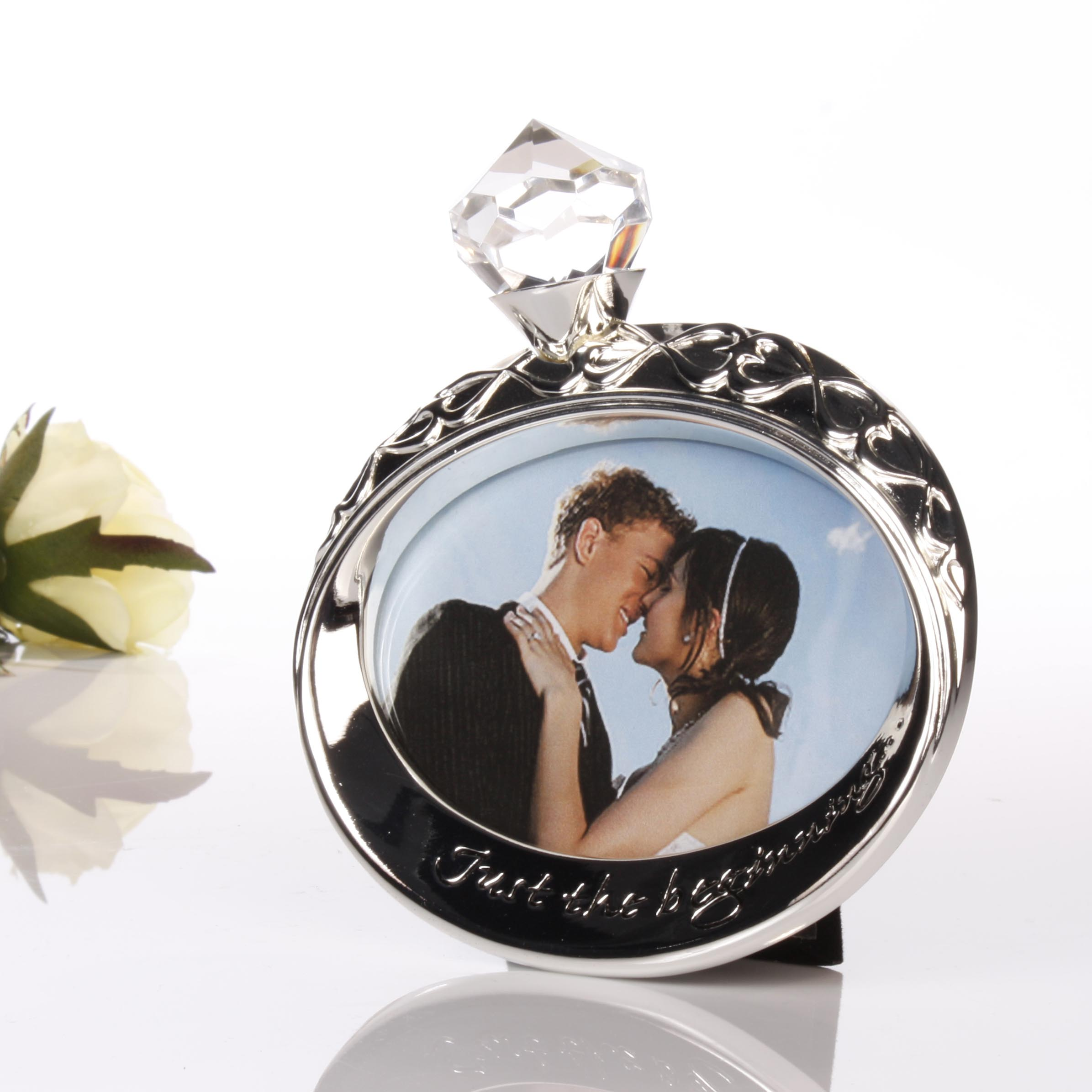 just the beginning photo frame - Engagement Picture Frames