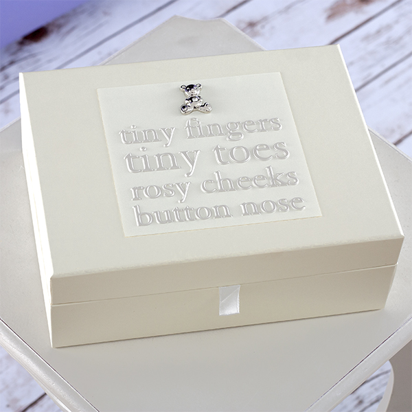 Baby Keepsake Box With Drawers - Keepsake Gifts