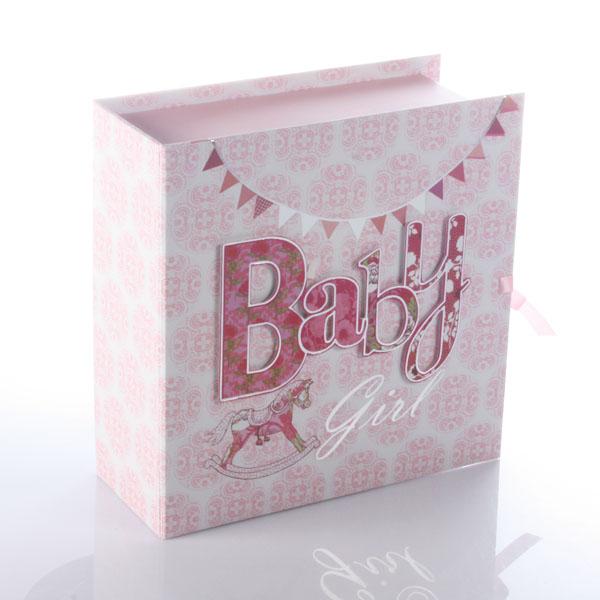 Baby Girl Keepsake Box With Drawers - Keepsake Gifts