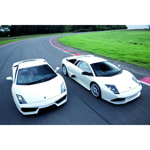 Lamborghini And Aston Martin Driving Thrill