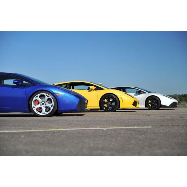 Lamborghini Driving Thrill With Passenger Ride