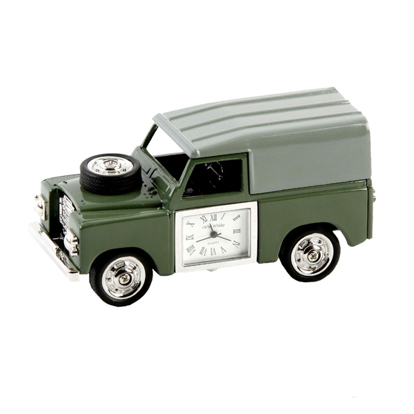 Landrover Miniature Clock