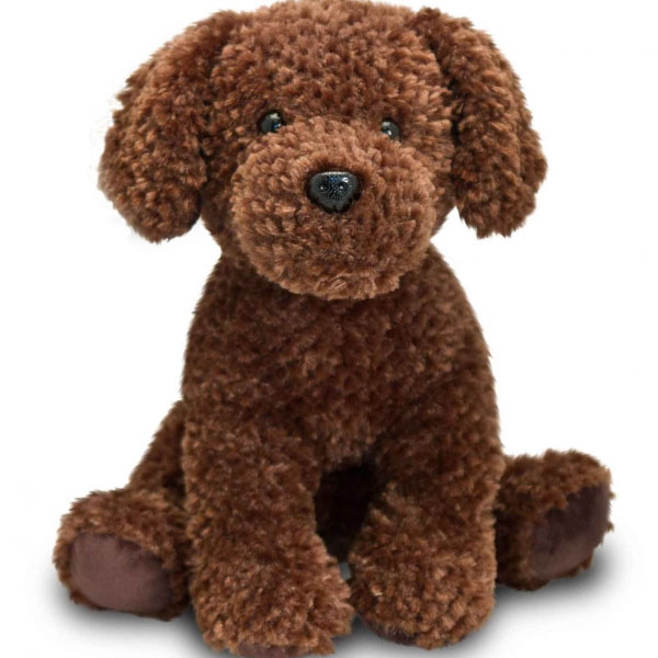 Brown Labrador Soft Toy