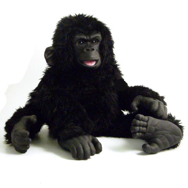 Large Gorilla Hand Puppet - Gorilla Gifts