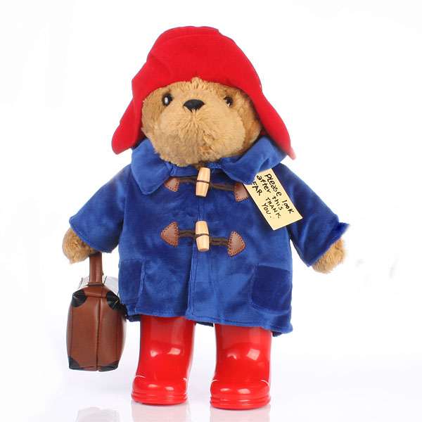 Large Paddington Bear With Boots and Suitcase - Boots Gifts
