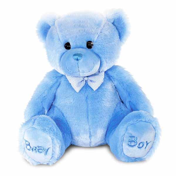 Baby Boy Bear Soft Toy - Baby Boy Gifts